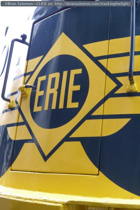 Erie Railroad E8A 833—last of its kind.