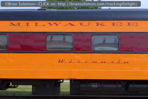 It's not all about the locomotives, this fine old passenger car caught my eye.