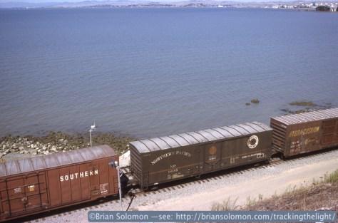 Northern Pacific Boxcar Pinole CA 1992©Brian_Solomon_236355