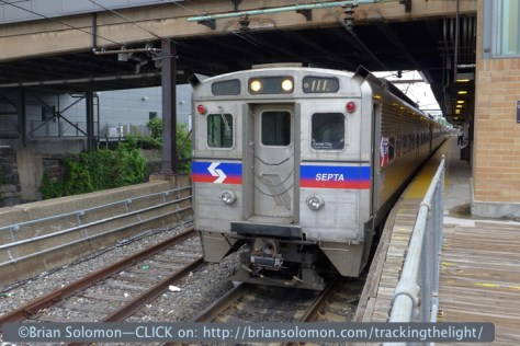 SEPTA at Trenton. Lumix LX-7 set at ISO 80.