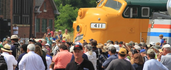 Streamliners at Spencer; Friends and Faces—TRACKING THE LIGHT Special Post.