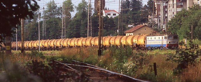 Tracking the Light's Daily Post: A Transylvanian Oil Train