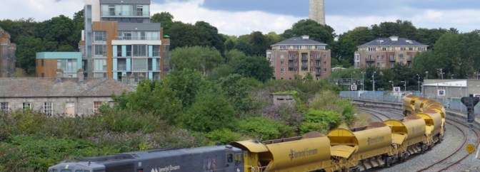 Irish Rail Ballast Train—July 28, 2014