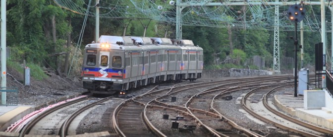 Tracking the Light Daily Post: On The Main Line at Overbrook, Pennsylvania—Part 1