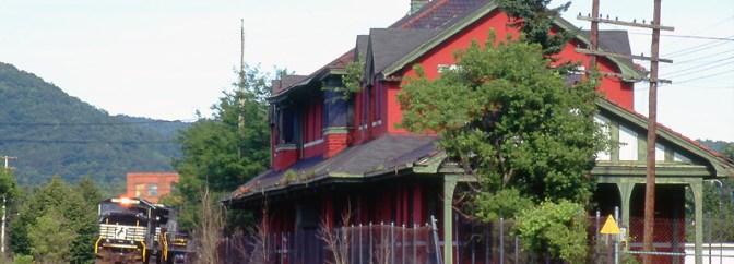 Erie Railroad Station Salamanca—July 2004.