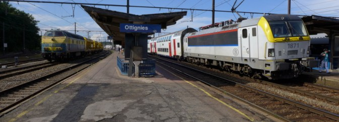 Ottignies—13 Minutes to Change Trains