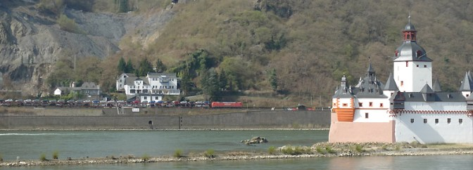Freight Along the Rhein