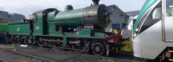 England vs Korea: A 2-6-0 and a Diesel Multiple Unit—Face to Face.