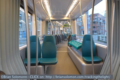 What better way to see a city? Rotterdams trams are clean and feature large windows. Lumix LX7 photo