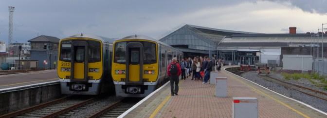 Kent Station, Cork—September 25, 2013 and October 6, 2014.