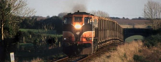 Irish Rail Sugar Beet near Ballycullane