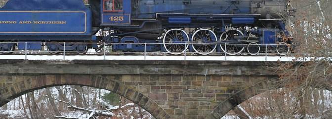 Blue Pacific Under Steam