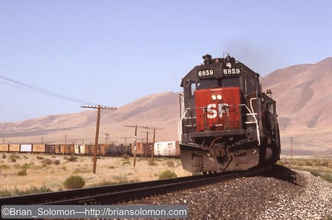 Weso, Nevada on July 21, 1991. Exposed on Kodachrome 25 using a Nikon F3T fitted with a f1.8 105mm Nikkon lens, mounted on a Bogen 3021 tripod.
