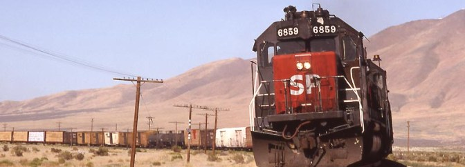 Southern Pacific Weso, Nevada.