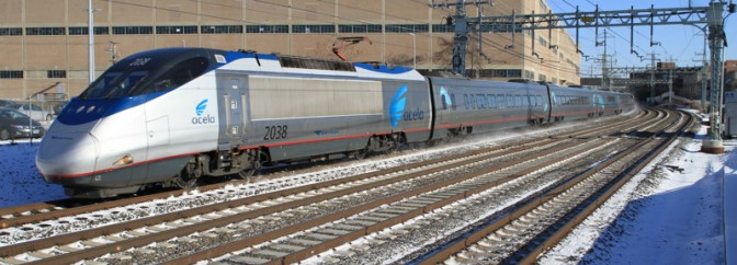 West Haven, Amtrak Acela Express