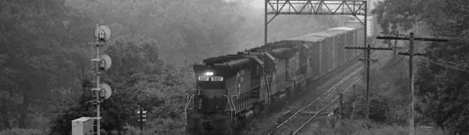 Foggy Morning, East Deerfield, Massachusetts, June 24, 1989.