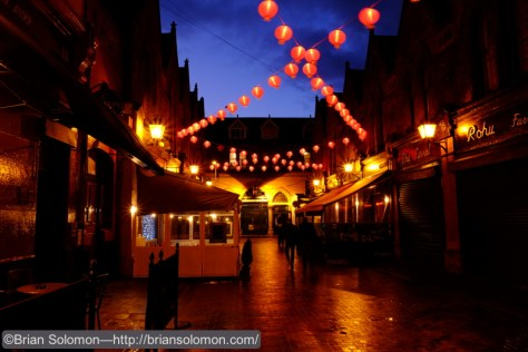 Chinese New Year lamps on Castle Market.