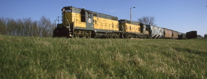 Twenty Years Ago Today: Chicago & North Western at Jefferson Junction