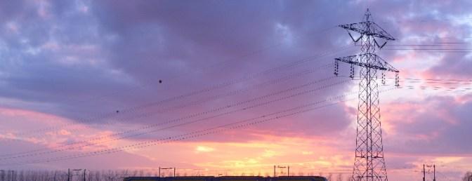 Extra Post: Sunset near Bergen op Zoom
