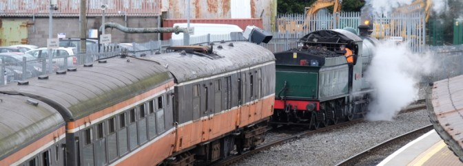 Railway Preservation Society of Ireland 461 to Drogheda Photo Album.