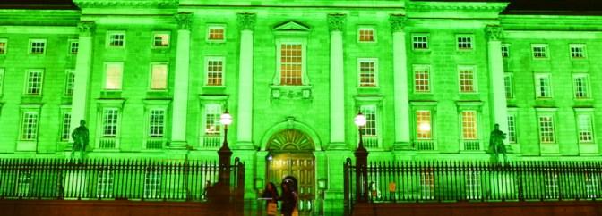 Dublin's Gone Green for St. Patrick's Day!