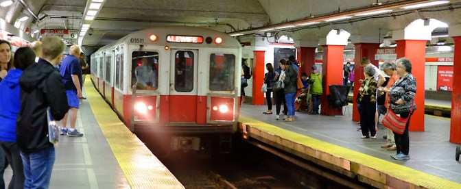 Boston's Red Line—Hooray for Digital Photography!