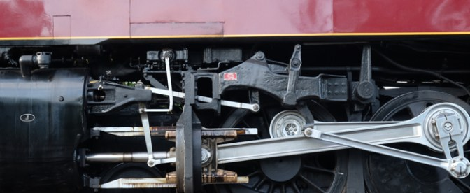 Norfolk & Western J-Class 611—Up Close.