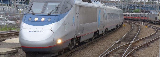 Tracking the Light Special Update—Amtrak Acela 2253 at New Haven