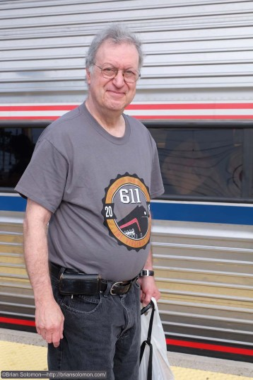 Richard J. Solomon with 611 shirt at New Haven, Connecticut at 8:41 am on June 25, 2015.