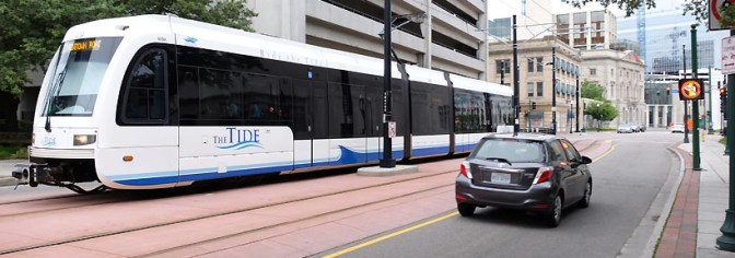 Riding the Tide: Norfolk, Virginia's Light Rail.