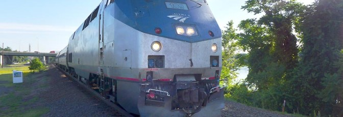 Tracking the Light Special: Live from Amtrak 495!