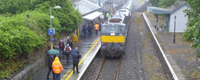 20 More Photos from the Irish Railway Record Society July 2015 Mayo Tour