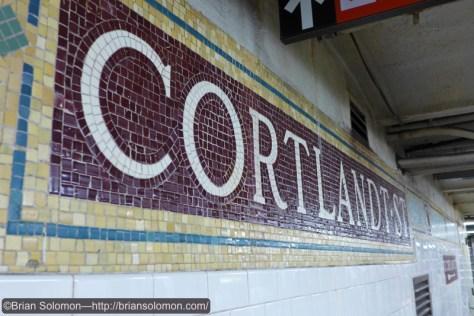 Cortlandt Street.