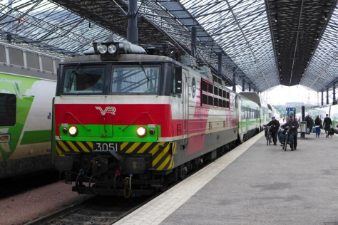 VR_class Sr-1 Electric at Helsinki.