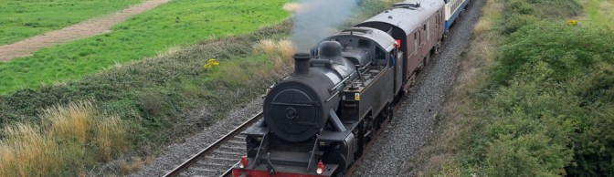 15 Steam Photographs: RPSI trip to Drogheda and Dundalk on August 9, 2015.