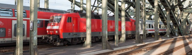 DB Class 120—Polyphase traction pioneer-Crossing the Rhein