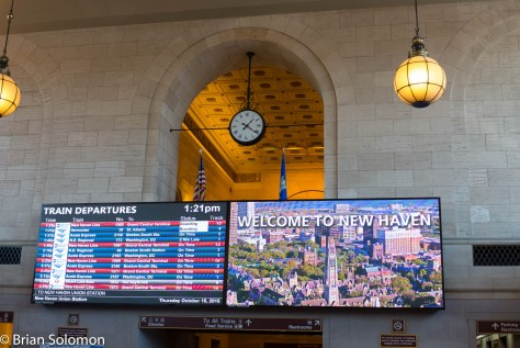 New Haven Union Station about 1:24 pm on Thursday October 15, 2015. Lumix LX7 photo.