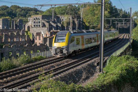 SNCB_train_Railway_Line_Villers_Abbey_2_DSCF3457