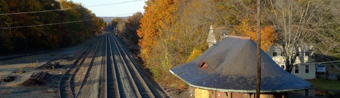 New Book Features East Brookfield Station!