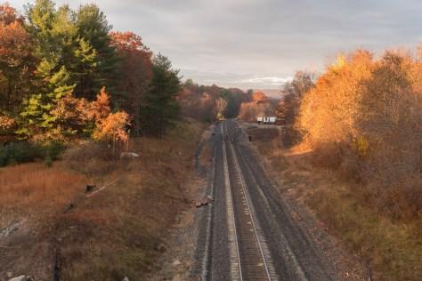 Looking west at West Warren. Lumix LX7 photo.