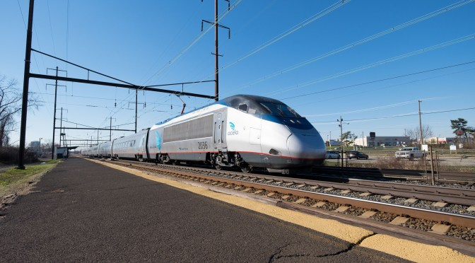 Amtrak Action Under Wire; Northeast Corridor in December 2015