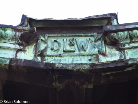 Hints of the old order; the Delaware, Lackawanna & Western was one of the great railway companies of the early 20th century.