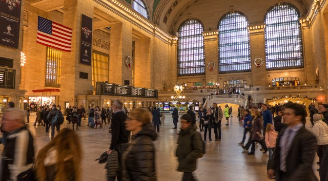 Take a Spin on Metro-North; West Haven to Grand Central Terminal.