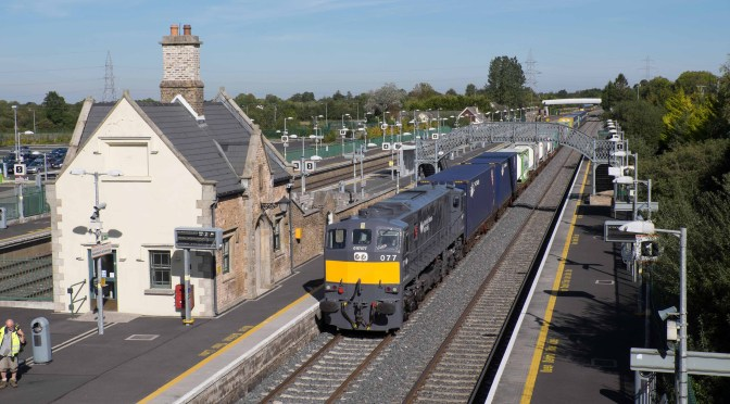 Irish Rail by the rules at Hazelhatch, September 2015.