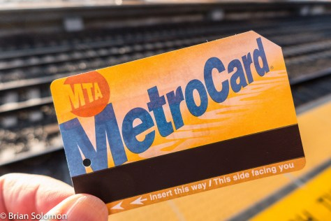 My MetroCard that was good on Metro-North, the New York City Subway and PATH.