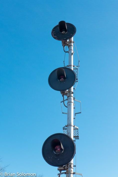 Searchlights at Ayer.