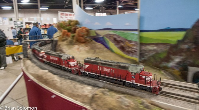 Tracking the Light EXTRA: Big Railroad Hobby Show at the BIG E in West Springfield this weekend Jan 30-31, 2016.