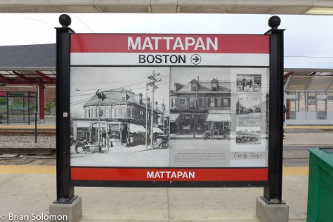 Mattapan is on the Red Line, served via vintage PCCs—at least for now.
