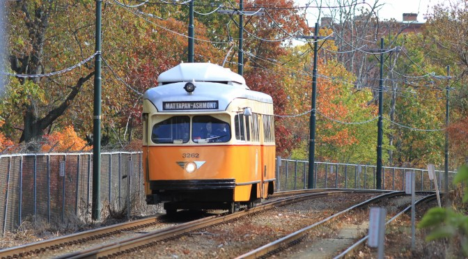 MBTA's Mattapan-Ashmont PCCs in the Digital Era.