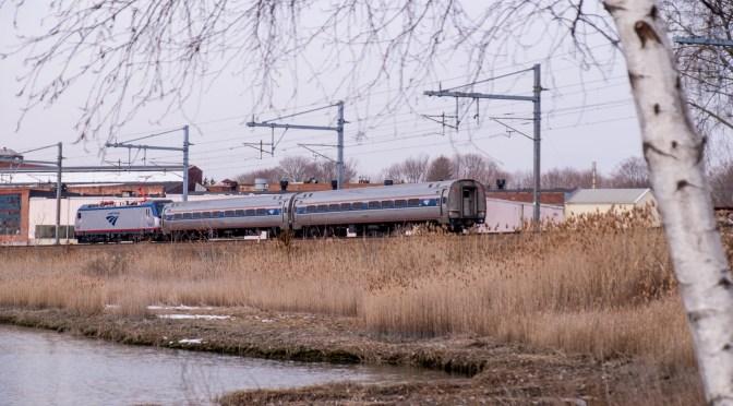Unexpected Bonus: Amtrak Test Train with New Cities Sprinter.